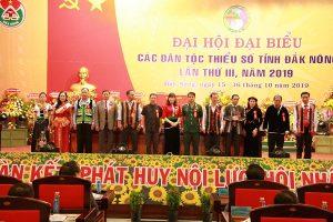 Đại hội Đại biểu các DTTS tỉnh Đắk Nông – Hoa cài áo đại biểu – Hoa cài áo hội nghị