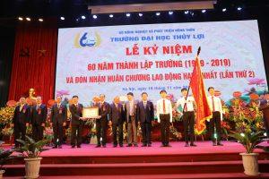 Trường ĐH Thủy lợi đón Huân chương Lao động hạng Nhất và Kỷ niệm 60 năm thành lập